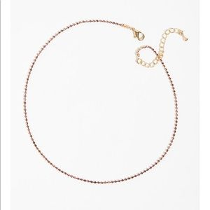 Free people delicate everyday rhinestone Necklace